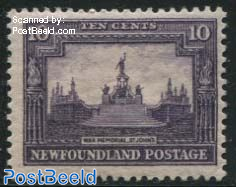 10c, with WM, Stamp out of set