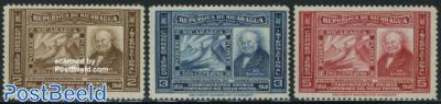 Stamp centenary 3v