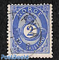 2SK blue, Stamp out of set