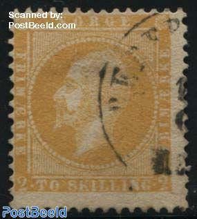 2Sk Orangeyellow, used