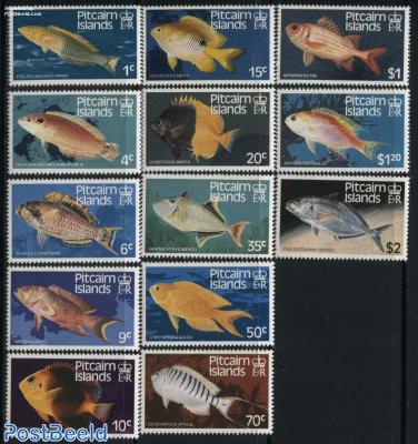 Definitives, fish 13v