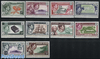 75 Years Pitcairn Stamps 10v