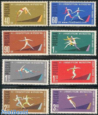 European athletic games 8v