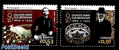 Calouste Sarkis Guldbenkian 2v