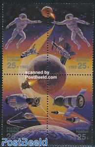 International space year 4v [+], joint issue USA