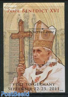 Popes visit to Germany s/s