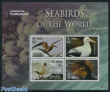 Seabirds of the world 4v m/s