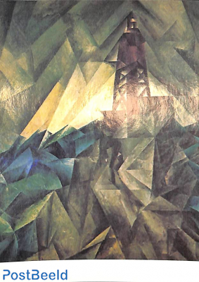 Lionel Feininger, Lighthouse ca. 1913