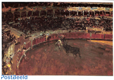 Mariano Fortuny Marsal, Bull fight, 1869