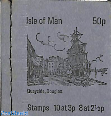 Definitives booklet 50p