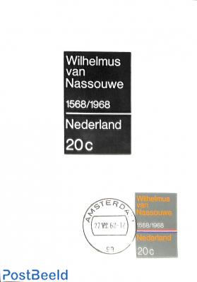Wilhelmus, photo max. card