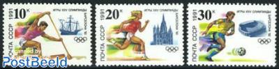 Olympic Games Barcelona 3v