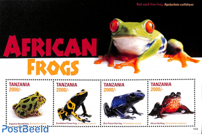African frogs 4v m/s