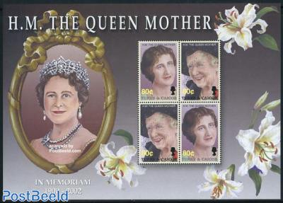 Queen mother 4v m/s