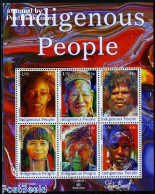 Indigenous people 6v m/s