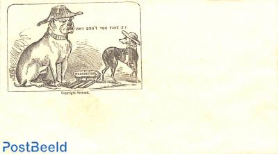 Civil war envelope, Why don't you take it
