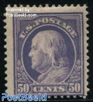 50c, WM1, Perf. 12, Stamp out of set