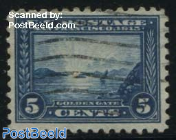 5c, Perf. 10, Stamp out of set