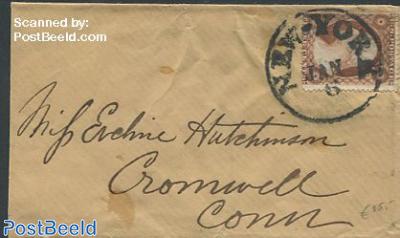 little envelope from New York