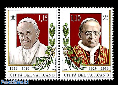 90 years Vatican City 2v [:]