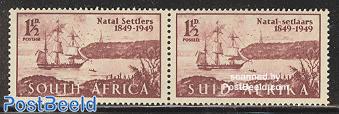 British settlers pair
