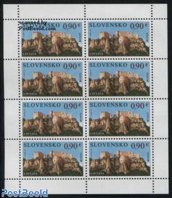 Europa, Castles minisheet
