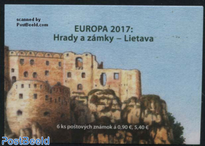 Europa, Castles s-a booklet