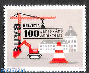 100 years SUVA 1v