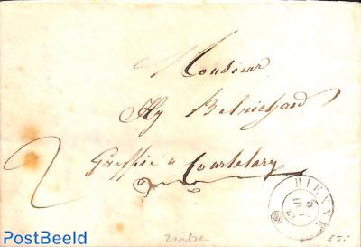 folding letter to Bienne