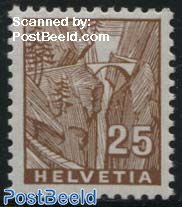 25c. Stamp out of set