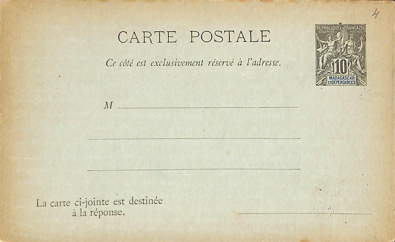 Diego Suarez, Envelope 5c
